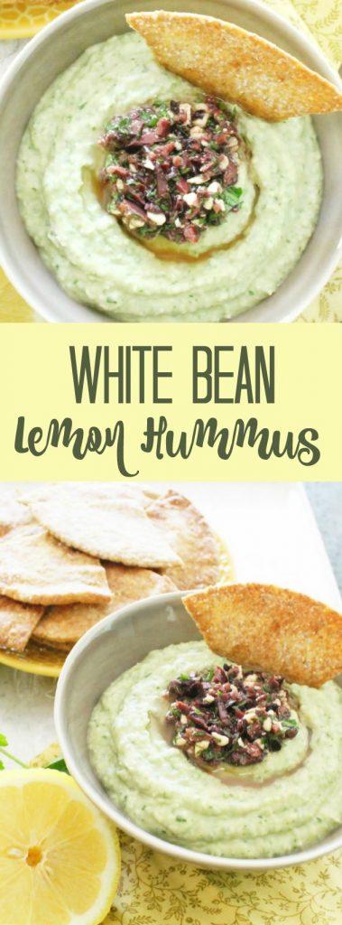 White Bean Lemon Hummus