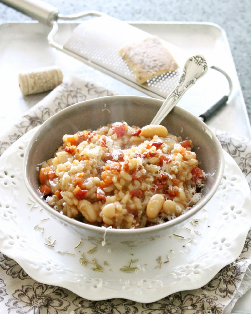 Minestrone Risotto by Foodtastic Mom