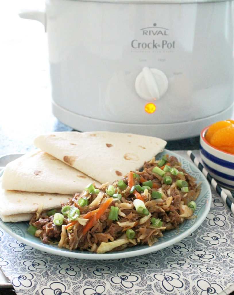 How to eat moo shu pork