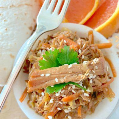 Slow Cooker Moo Shu Pork