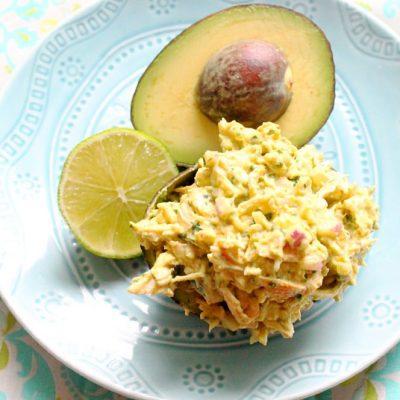 Mayo-Free Avocado Chicken Salad from Humana Vitality