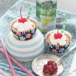 Cherry Margarita Mini Cheesecakes