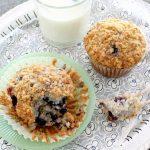 Copycat Panera Wild Blueberry Muffins