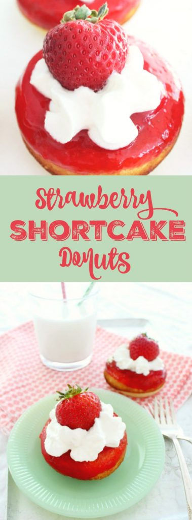 Strawberry Shortcake Donuts