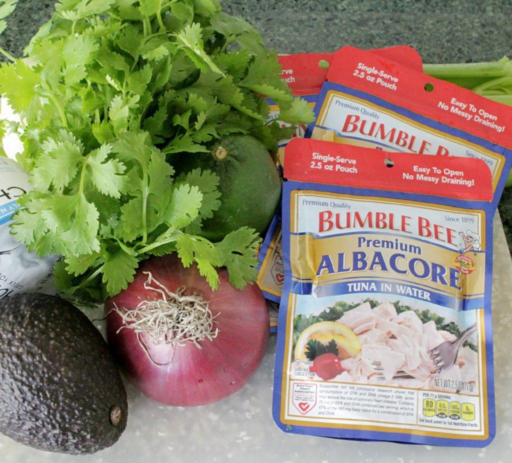 Guaca-Tuna Salad with Bumble Bee Tuna by Foodtastic Mom