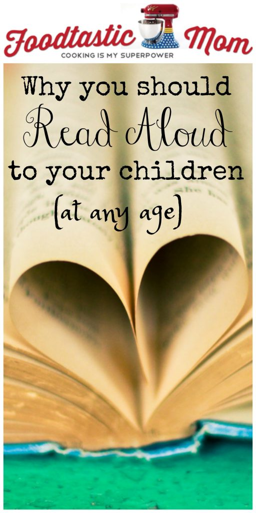 Why you should Read Aloud to your Children... at any age!