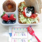 Fiesta Lunch with Churro Baked Donuts