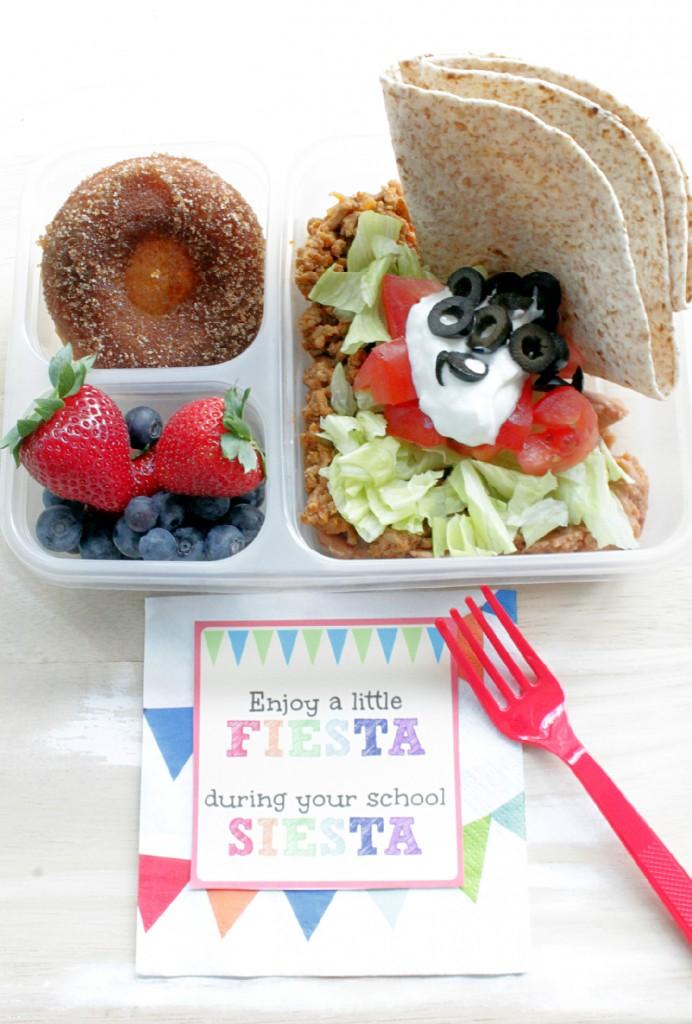 Fiesta Lunchbox by Foodtastic Mom