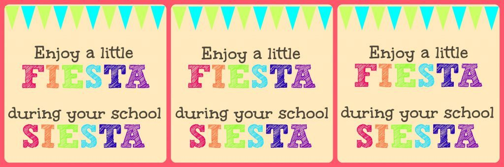 Fiesta Lunch Notes by Foodtastic Mom