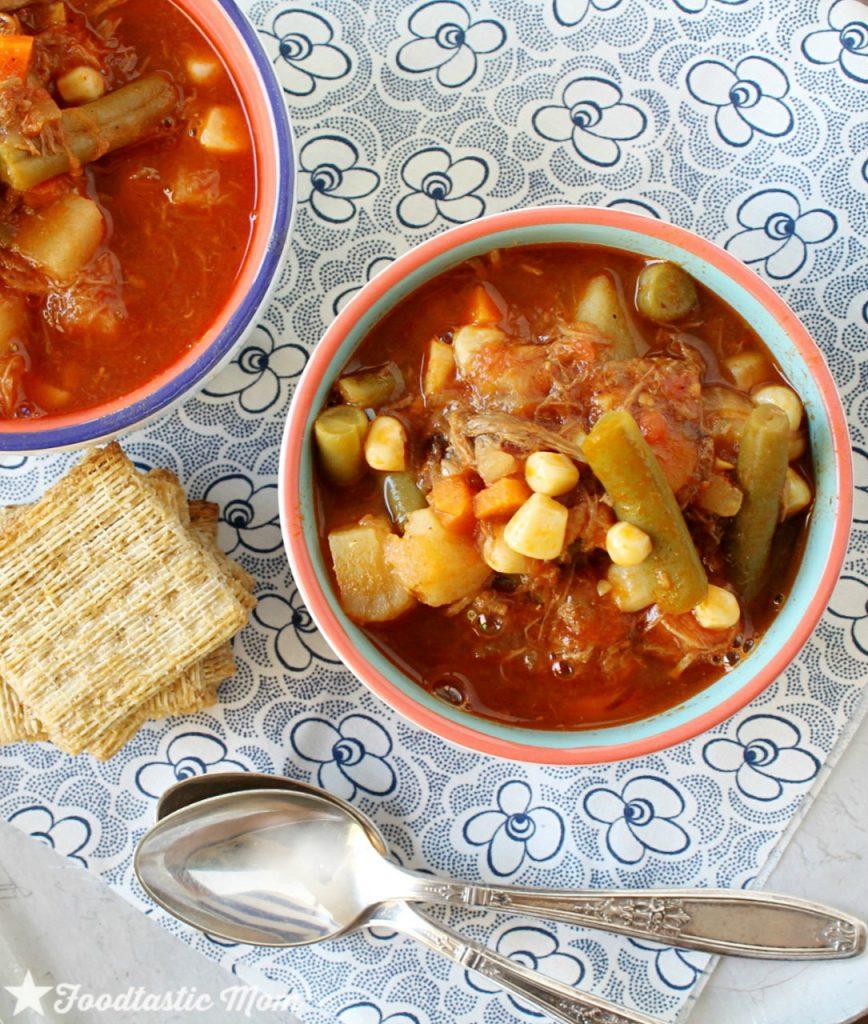 Easiest Beef Vegetable Soup by Foodtastic Mom