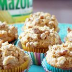 Pumpkin Apple Muffins with Mazola Corn Oil