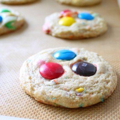Mega M&M Cookies #OXOGoodCookies