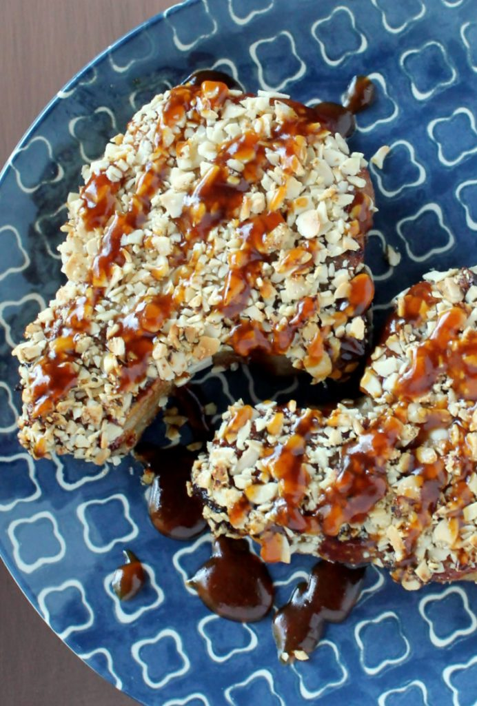 Almond Crusted Pork and a Cookbook Giveaway by Foodtastic Mom
