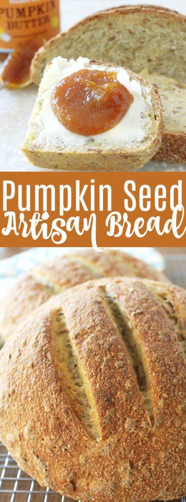 Pumpkin Seed Artisan Bread