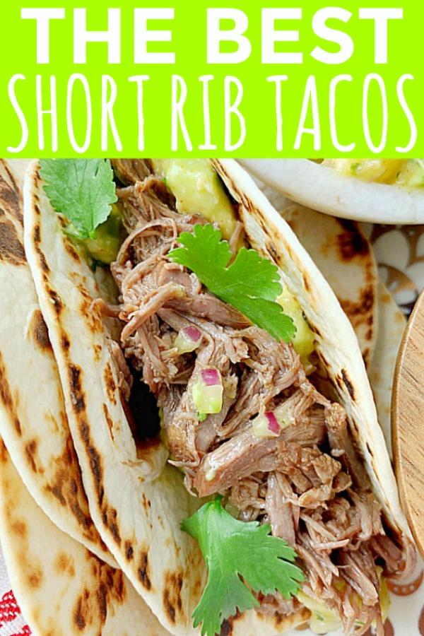 Short Rib Tacos | Foodtastic Mom #ohbeef #shortribtacos #tacorecipes