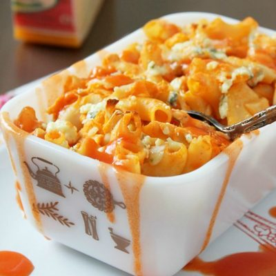 Celebrate Buffalo Mac and Cheese with Parrano