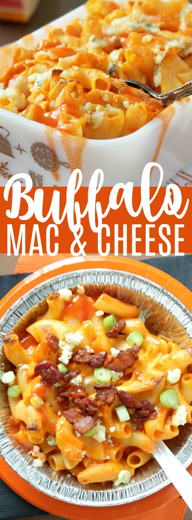 Buffalo Chicken Mac and Cheese | Foodtastic Mom