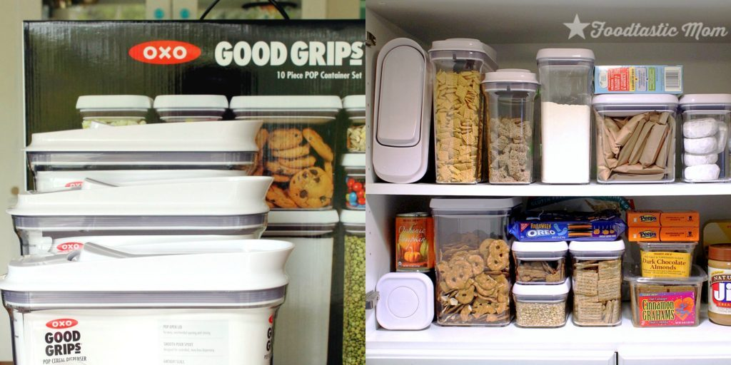 Let 39 S Get Organized With Oxo And The Container Store Foodtastic Mom