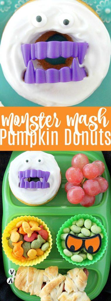 Monster Mash Pumpkin Donuts