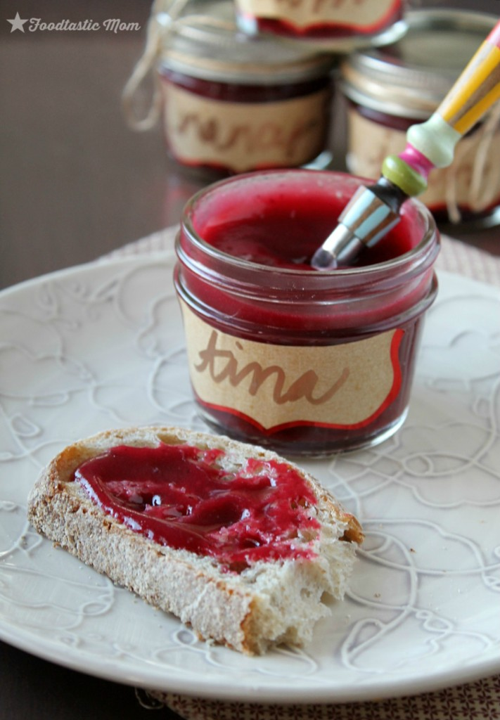 Slow Cooker Cranberry Butter Holiday Favors by Foodtastic Mom