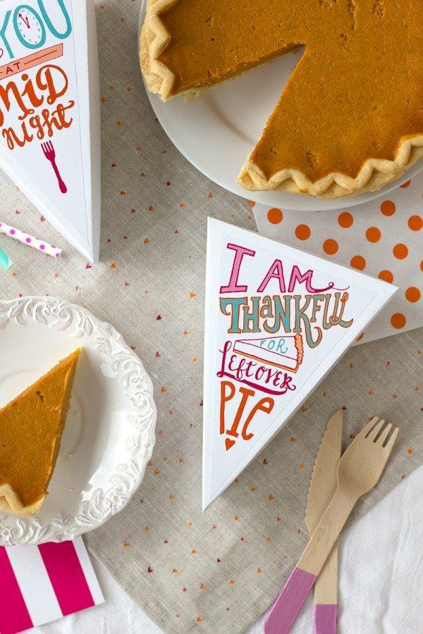 Leftover Pie Labels by Studio DIY