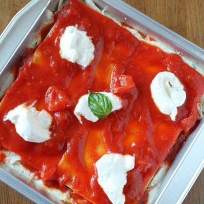Chicken Margherita Freezer Lasagna with Ragú®