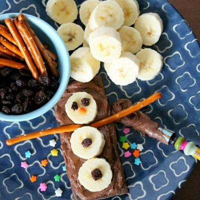 Build-a-Snowman Snack with Reese's Spreads