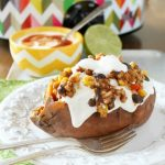 Slow Cooker Stuffed Sweet Potatoes