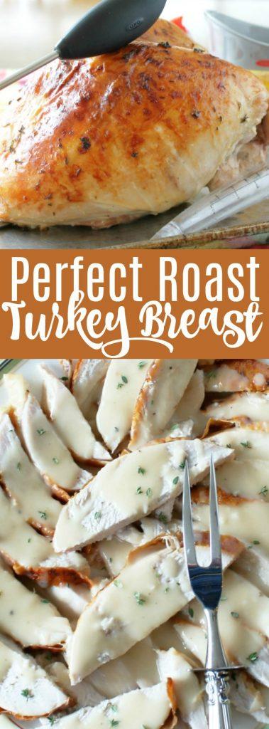 Perfect Roast Turkey Breast | Foodtastic Mom #thanksgiving #thanksgivingturkey #turkeyrecipes #turkeybreast via @foodtasticmom