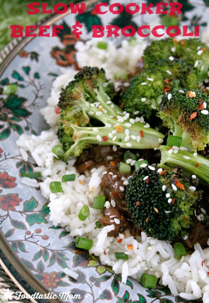 Slow Cooker Beef and Broccoli by Foodtastic Mom