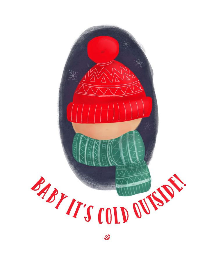 Baby It's Cold Outside Free Printable by Lost Bumblebee