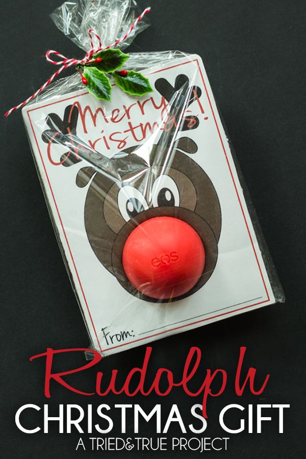 Rudolph EOS Free Printable by Tried and True