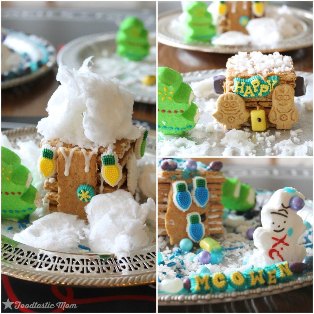 Honey Maid Graham Cracker Houses by Foodtastic Mom