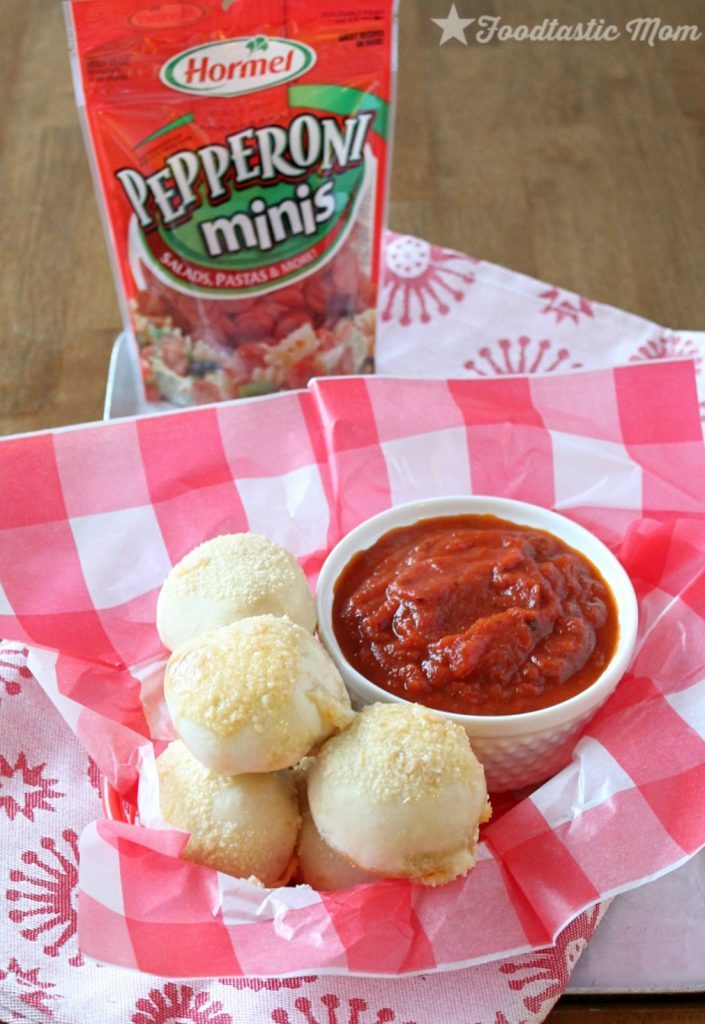 Hormel Pepperoni Balls by Foodtastic Mom #PepItUp #ad