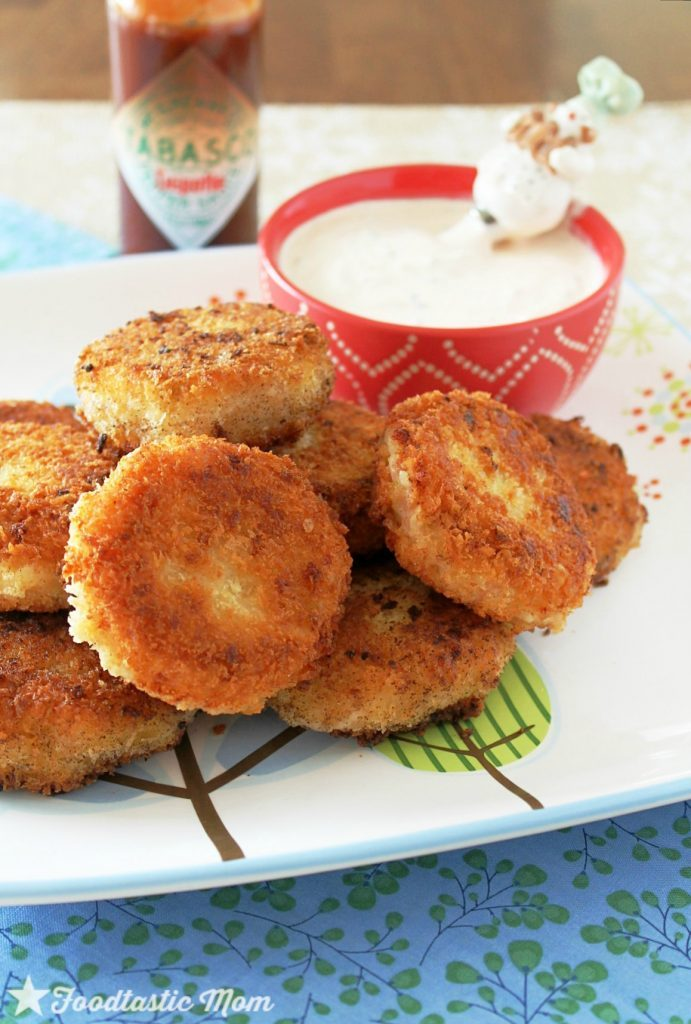 ... chipotle flavor is what totally takes these crispy croquettes over the