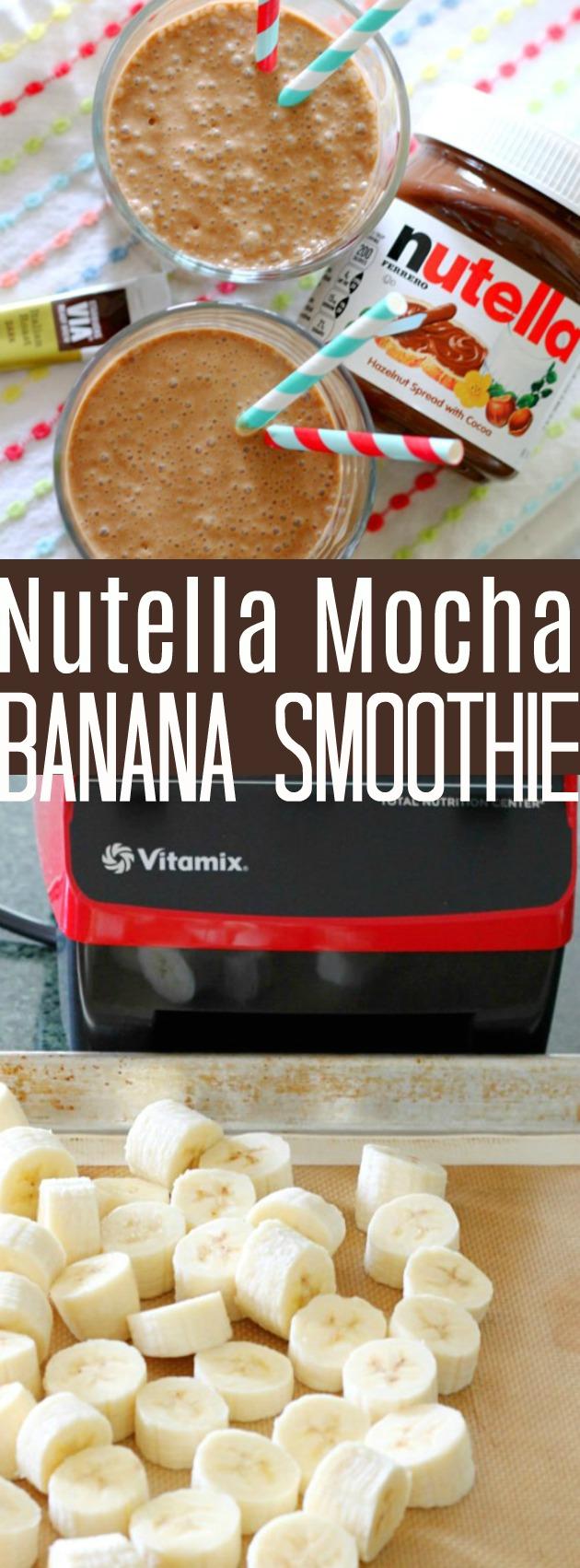 Nutella Mocha Banana Smoothie