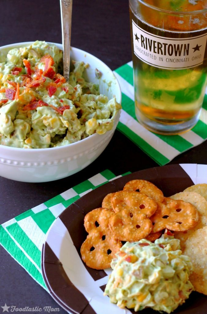 Bacon Corn Avocado Dip by Foodtastic Mom