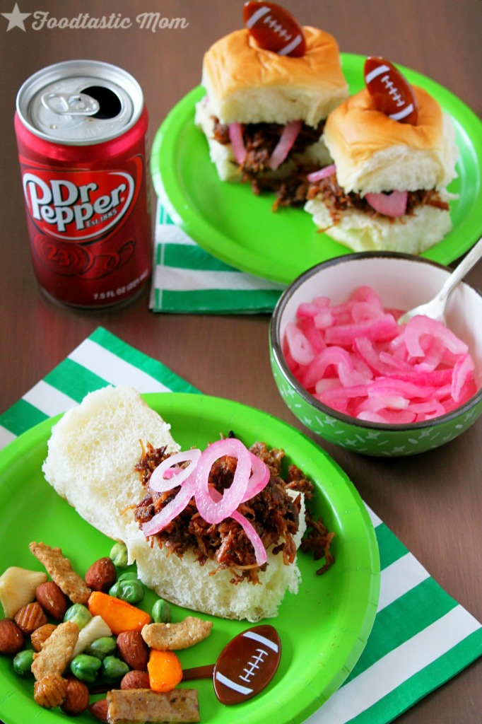 Chicken Sliders with Dr Pepper Glaze by Foodtastic Mom