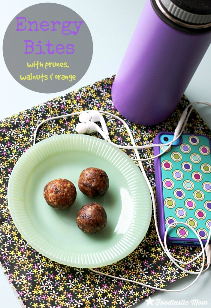 Energy Bites with Sunsweet Prunes by Foodtastic Mom