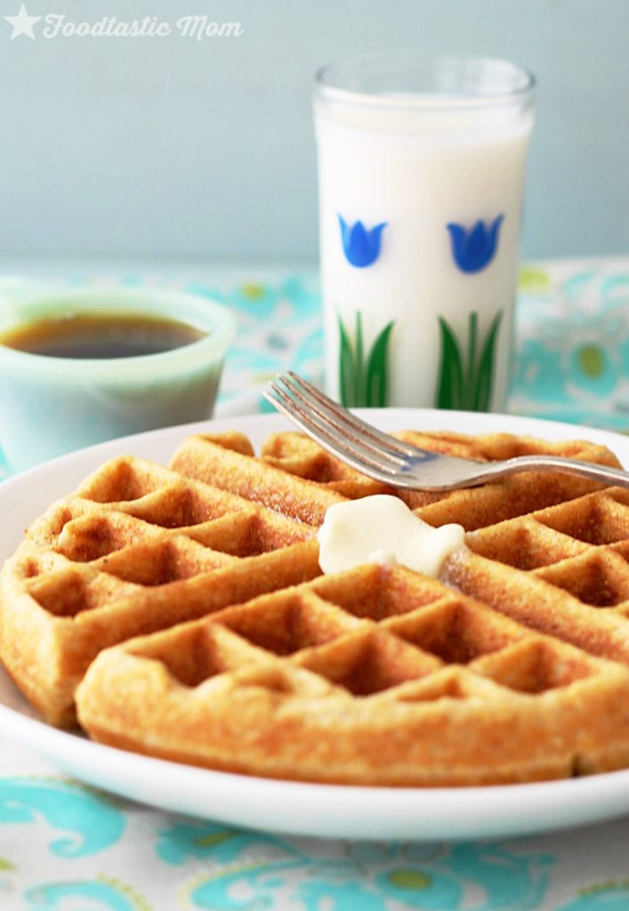 Whole Grain Waffle Mix by Foodtastic Mom