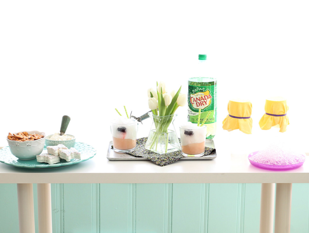 Simple Celebrations with Canada Dry Ice Cream Floats by Foodtastic Mom #KeepSpringBubbly #ad
