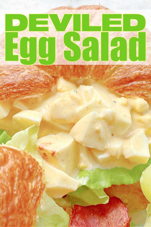 Deviled Egg Salad | Foodtastic Mom #eggsalad #deviledeggs #deviledeggsalad #deviledeggrecipe via @foodtasticmom
