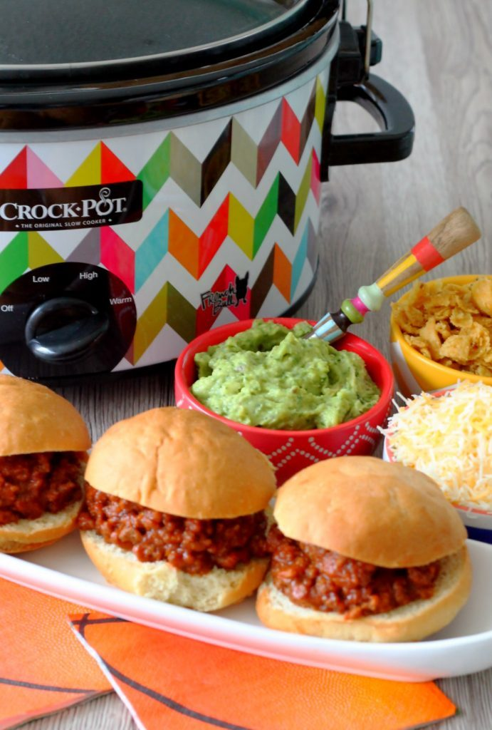 Slow Cooker Sloppy Joes with Rotel by Foodtastic Mom