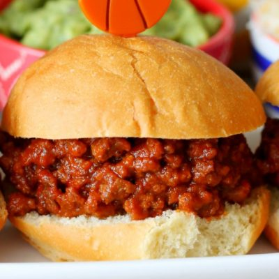 Sweet and Spicy Slow Cooker Sloppy Joes with Rotel