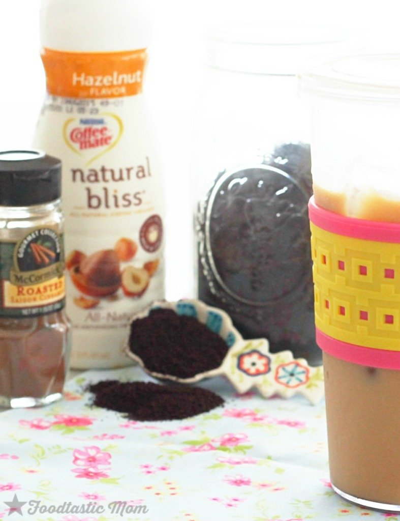 The Best Iced Coffee (for only 70 calories) by Foodtastic Mom