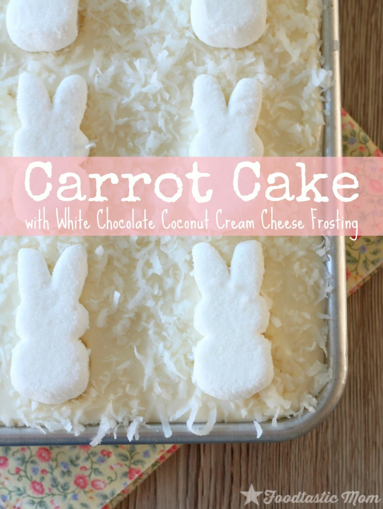 Carrot Cake by Foodtastic Mom