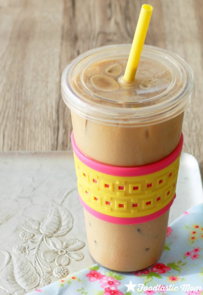The Best Iced Coffee (only 70 calories) by Foodtastic Mom