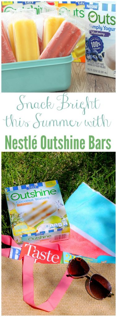 Snack Bright this Summer with Nestlé Outshine Bars