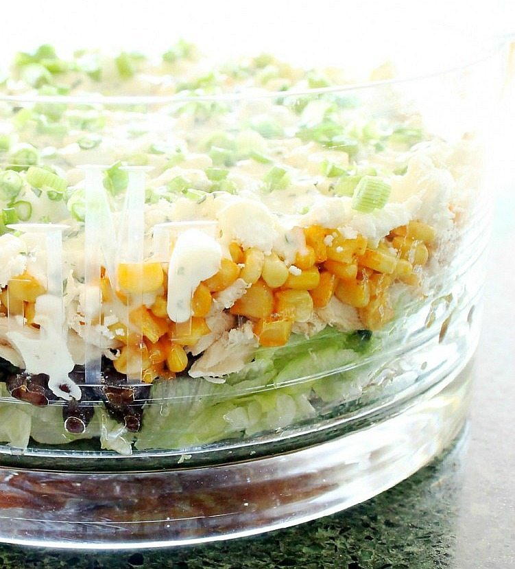 7 Layer Mexican Street Corn Salad by Foodtastic Mom