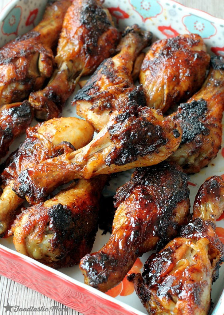 Beer BBQ Basted Red Legs by Foodtastic Mom